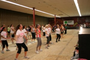 Planet Zumba class in action