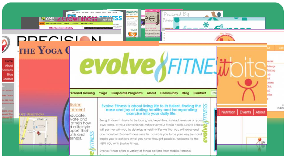 Fit With Flair website porfolio